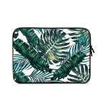 11 - 13.3 Laptop Sleeve , iCasso Palm Leaf Pattern Nylon Protecteur Cover Imperméable étui Housse pour MacBook Air, MacBook Pro, Tablet PC, Ultrabook, 11 - 13,3 Pouces Ordinateur Portable de la marque iCasso image 1 produit