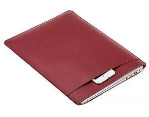 11.6-15.4 Pouces Sac de Transport Poche Couverture de Peau Netbook Ultrabook Sacoche Laptop en faux cuir pour Macbook air / pro de la marque LaoZan image 0 produit