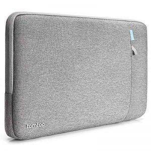 【14-15 Pouces】 tomtoc 360 ° Housse de Protection pour 15 Pouces MacBook Pro Retina A1398 | 14 Pouces ThinkPad Laptop, Sac d'Ordinateur Portable 15 Pouces Antichoc, Gris de la marque Tomtoc image 0 produit