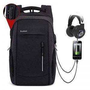 DCCN 17 Pouces Housse Sachoche pour Ordinateur Portable PC R/ésistant /à leau
