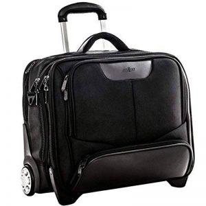 17 Pouces Business à Roues Laptop Briefcase Compartiment Pour Ordinateur Portable Noir Polyester XXL de la marque Me and My image 0 produit