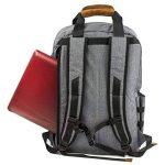 """ALLCAMP Sac à dos pour ordinateur portable 15,6"""" Gris de la marque ALLCAMP image 3 produit"""