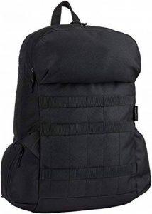 """AmazonBasics Sac à dos en toile pour ordinateur portable de maximum 15"""" (38cm) - Noir de la marque AmazonBasics image 0 produit"""
