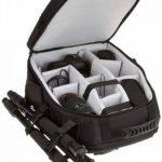 AmazonBasics Sac à dos pour appareil photo reflex numérique et ordinateur portable intérieur gris de la marque AmazonBasics image 3 produit