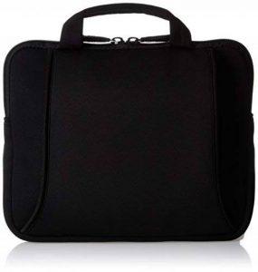 AmazonBasics Sacoche en néoprène avec poignée pour Netbook de 7 à 10 pouces Noir de la marque AmazonBasics image 0 produit