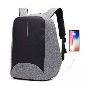 Antivol Sac à Dos pour Ordinateur Portable 15.6 Pouces avec Port de Charge USB pour Homme et Femme de la marque GENOLD image 0 produit