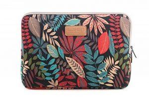 AreTop® Housse Sacoche pour iPad Tablet Ordinateur Portable 10 pouces (27 * 21 * 1.5 cm, Noir Coleus) de la marque ARETOP image 0 produit