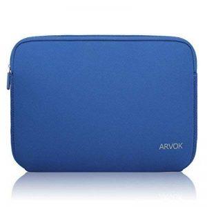 ARVOK 13.3 14 Pouces Housse pour Ordinateur Portable en Néoprène Pochette Sacoche pour Chromebook Ultrabook Netbook Tablette (Bleu Foncé) de la marque ARVOK image 0 produit