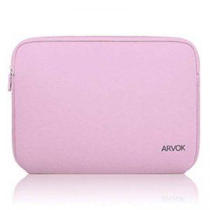 ARVOK 15 15.6 Pouces Housse pour Ordinateur Portable en Néoprène Pochette Sacoche pour Chromebook Ultrabook Netbook Tablette (Rose) de la marque ARVOK image 0 produit