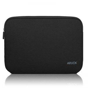 ARVOK 15 15.6 Pouces Housse pour Ordinateur Portable en Néoprène Pochette Sacoche pour Chromebook Ultrabook Netbook Tablette (Noir) de la marque ARVOK image 0 produit