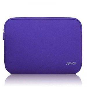 ARVOK 15 15.6 Pouces Housse pour Ordinateur Portable en Néoprène Pochette Sacoche pour Chromebook Ultrabook Netbook Tablette (Violet) de la marque ARVOK image 0 produit