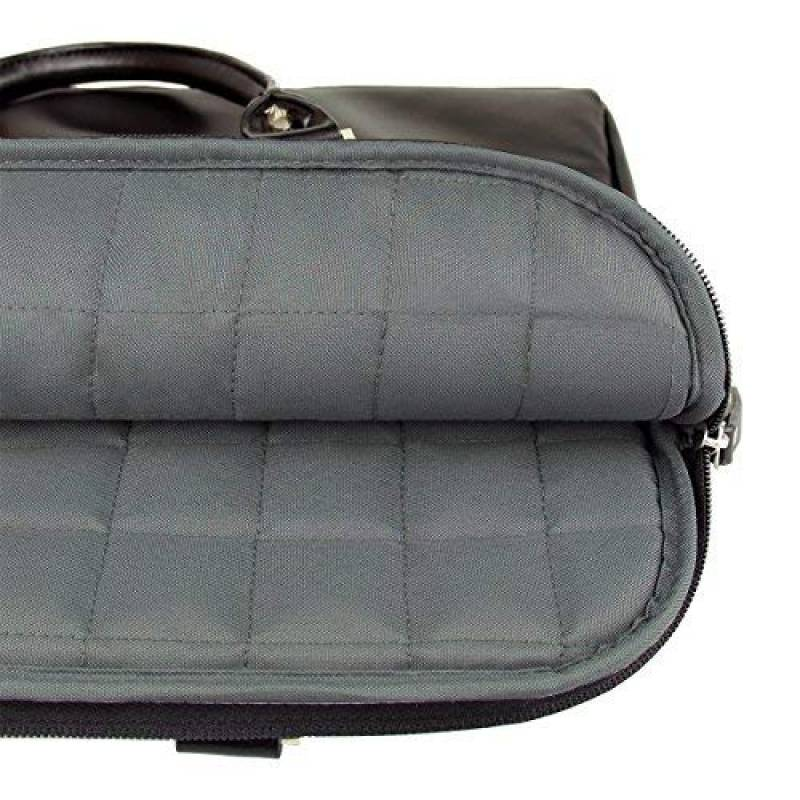 176c03de8b Arvok 15 15,6 Pouces Sacoche d'ordinateur Portable PU Cuir Laptop Sleeve  Housse pour Apple MacBook Air ...