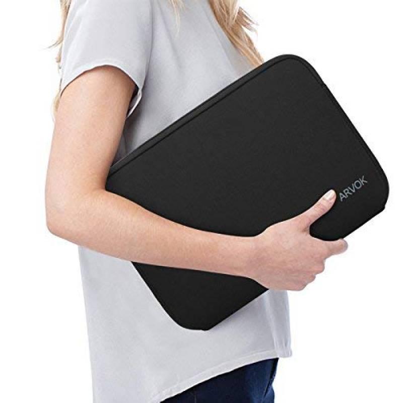 8dcea4cb74 ARVOK 17 17.3 Pouces Housse pour Ordinateur Portable en Néoprène Pochette Sacoche  pour Chromebook Ultrabook Netbook Tablette (Noir) de la marque ARVOK