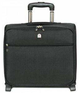 """Bagage Porte-Documents à 4 roulettes - Style Business/Compartiment pour Ordinateur Portable 16"""" de la marque Lombard image 0 produit"""