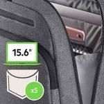 """Belkin - Sacoche Messenger """"Classic Pro"""" pour Ordinateur Portable 15,6"""" - Gris de la marque Belkin image 4 produit"""