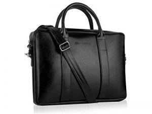 Betlewski - Sac d'affaires homme cuir, porte-documents serviette de travail BTM sac à bandoulière 40 x 22 cm de la marque Betlewski image 0 produit