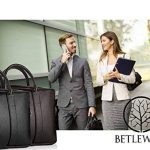 Betlewski - Sac d'affaires homme cuir, porte-documents serviette de travail BTM sac à bandoulière 40 x 22 cm de la marque Betlewski image 3 produit