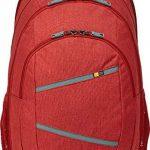 Case Logic BPCA315BRK Sac à dos en nylon pour ordinateur portable 15'' et une tablette 10,1'' Rouge de la marque Case Logic image 4 produit