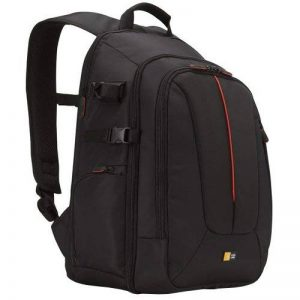 """Case Logic DCB309K Sac à dos en nylon pour l'ordinateur portable Mac Book 15"""" and PC 14"""" - Noir de la marque Case Logic image 0 produit"""