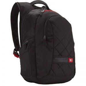 """Case Logic DLBP116K Sac à dos fashion en nylon pour ordinateur portable 15,4"""" / 16"""" Noir de la marque Case Logic image 0 produit"""