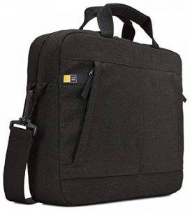 """Case Logic HUXA113K Sacoche avec bandoulière en polyester pour Ordinateur portable 13,3"""" Noir de la marque Case Logic image 0 produit"""