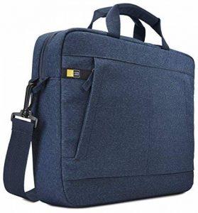 """Case Logic HUXA114B Sacoche avec bandoulière en Polyester pour Ordinateur Portable 14"""" Bleu de la marque Case Logic image 0 produit"""