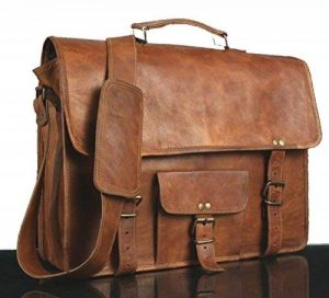* * * * * * * * classydesigns * * * * * * * * Unisexe 100% cuir véritable sac à bandoulière en cuir véritable pour sacoche pour ordinateur portable Sacoche... de la marque CLASSYDESIGNS image 0 produit