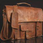 * * * * * * * * classydesigns * * * * * * * * Unisexe 100% cuir véritable sac à bandoulière en cuir véritable pour sacoche pour ordinateur portable Sacoche... de la marque CLASSYDESIGNS image 1 produit