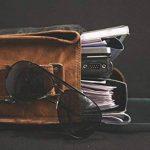 * * * * * * * * classydesigns * * * * * * * * Unisexe 100% cuir véritable sac à bandoulière en cuir véritable pour sacoche pour ordinateur portable Sacoche... de la marque CLASSYDESIGNS image 4 produit
