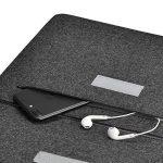 Colleer Sacoche avec compartiment pour accessoires d'ordinateur portable 13,3''- Protection Housse/Etui/Coque pour tablette Microsoft Surface Pro 3/4et MacBook Air Laptop 13,3 Zoll (33cm ) gris foncé de la marque Colleer image 4 produit