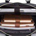 Coofit Porte document Oxford Sacoche Homme Business Sac Bandoulière Malette Sac à Main Bandoulière Sac Besaces pour homme de la marque Coofit image 4 produit