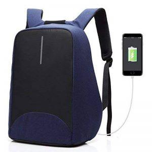 Coolbell Sac à Dos d'ordinateur Portable DE 15.6 Pouces avec Port USB de Charge/Sac Anti-vol Léger de Ville/Sac à Dos Fonctionnel Knapsack Backpack/Sac à Dos Imperméable pour Hommes/Femmes (Bleu) de la marque Coolbell image 0 produit