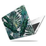Coque MacBook Air 13 Case , iCasso Palm Leaf Pattern Brillante Plastique Ultra Slim étui Housse de Protection Hard Rigide Cover Shell Pour MacBook Air 13 Pouces (Modèle: A1369 / A1466) de la marque iCasso image 4 produit