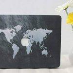 """Coque MacBook Air 13, L2W MacBook Air 13,3"""" Plastique Coque Rigide Housse pour Apple Laptop MacBook Air 13 pouces (Modèle A1369 / A1466) - Carte 38 de la marque L2W image 1 produit"""