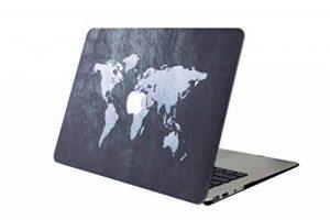 """Coque MacBook Air 13, L2W MacBook Air 13,3"""" Plastique Coque Rigide Housse pour Apple Laptop MacBook Air 13 pouces (Modèle A1369 / A1466) - Carte 38 de la marque L2W image 0 produit"""