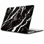 Coque MacBook Air Case, Coque MacBook Pro Case,iCasso Ultra Slim étui Housse de Protection Hard Rigide Cover Shell pour MacBook Air, Pro, Pro Rentina (Black Marble) de la marque iCasso image 3 produit