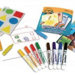 Crayola Mini Kids - 10570 - Kit de Loisir Créatif - coloriage gommettes de la marque Crayola image 2 produit