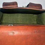 Cuir Sacs en cuir Sac à bandoulière pour homme et femme, vintage Business sacoche pour ordinateur portable et des livres à la main, robuste et vieilli ~ authentique rétro. de la marque LBC image 2 produit