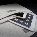 """dodocool 12 pouces Housse de Protection d'Ordinateur Pochette Sacoche en feutre avec Pochette de Souris pour 12"""" MacBook/11"""" MacBook Air / 12"""" Surface Pro 3 /12"""" Samsung Galaxy TabPro S et 9.7"""" iPad Pro, Gris de la marque dodocool image 4 produit"""