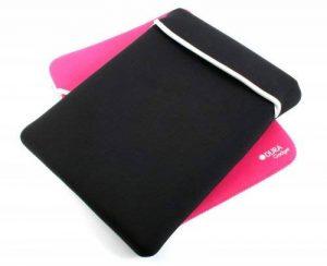 DURAGADGET Housse étui de protection en néoprène réversible noir / rose résistant à l'eau pour ordinateurs / PC portables - 18 pouces de la marque Duragadget image 0 produit