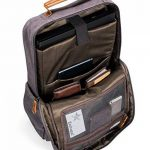Estarer Sac à Dos Ordinateur Portable 17-17.3 Pouces en Toile Vintage Port de Chargeur USB Externe Travail Ecole Gris de la marque Estarer image 3 produit