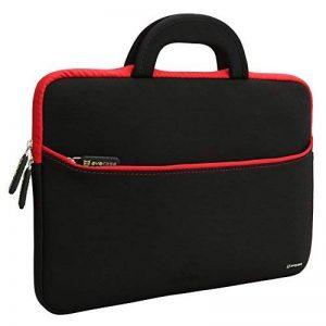 Evecase Housse pour ordinateur portable 13.3 - 14 pouces Sac de transport pour rembourrage résistant à l'eau pour Macbook, Surface Book, HP, Dell Laptop de la marque Evecase image 0 produit