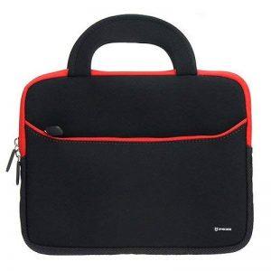 Evecase étui en néoprène avec poignée (265x200x20mm) - Noir et Rouge pour tablette 8.9 à 10.1 pouces Pour iPad Air, iPad Pro, Samsung Galaxy Tab 4 10.1 de la marque Evecase image 0 produit