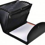 Exacompta - Réf. 55834E - Trieur Exafolio avec porte-bloc et valisette Exactive- 6 compartiments - noir de la marque EXACOMPTA image 3 produit