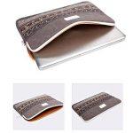 Feisman Housse Pochette, Laptop Sleeve 11 11,6 pouces Mallette pour Ordinateur Portable Macbook Air 11 -(Gris) de la marque Feisman image 1 produit