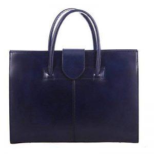 Femme sac sac cartable à l'épaule et portefeuilles main, 100% cuir véritable Made in Italy de la marque Chicca Tutto Moda image 0 produit