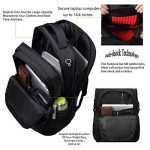 """freebiz Sac à Dos Ordinateur Portable Housse Imperméable 18,4""""Waterproof Laptop Backpack Rucksack avec Pris USB Anti-vol Noir de la marque freebiz image 4 produit"""