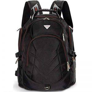 FREEBIZ Sac à Dos Ordinateur Portable PC Backpack Laptop Multifonction 18,4 pouces 50L Imperméable Unisexe Trekking Camping Randonnée Voyage Affaire Bureau Scolaire Noir de la marque Freebiz image 0 produit