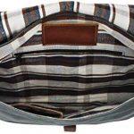"""Gusti Cuir studio """"Kirsten"""" sac à bandoulière sac à main en cuir sac d'ordinateur portable 13"""" hommes femmes toile de coton et cuir de buffle 2H53-26-57 de la marque Gusti image 3 produit"""