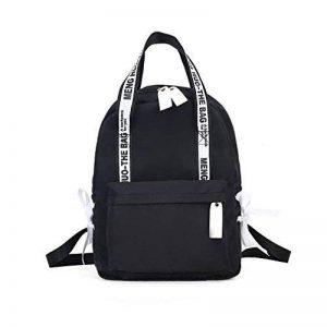 Haoling Sacs d'école de Preppy de sac à dos de grande capacité pour des adolescents Sacs de voyage en nylon femelle Filles Bowknot Backpack de la marque Haoling image 0 produit